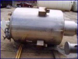Precision Stainless 800 Liter Jacketed Stainless Vessel with Agitator