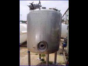 Precision Stainless 48 x48 1000 Liter Insulated Stainless Vessel