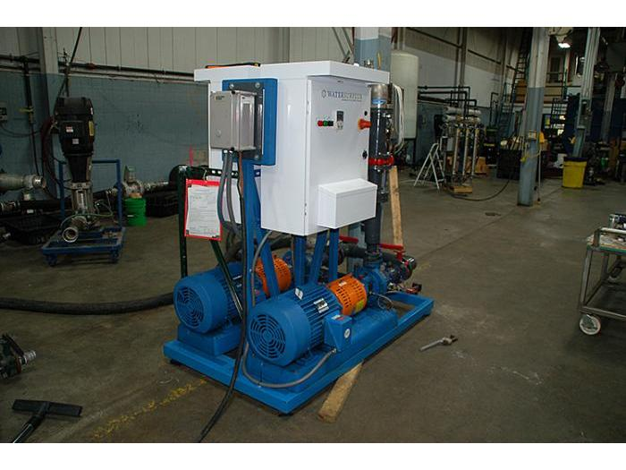 Goulds Dual Pump Skid