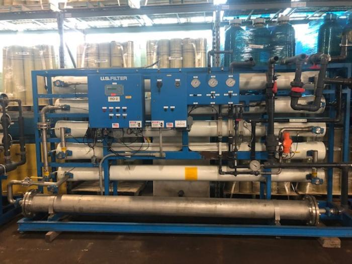 US Filter 30 GPM Double Pass RO